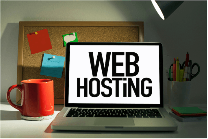 Domain and hosting elsewhere