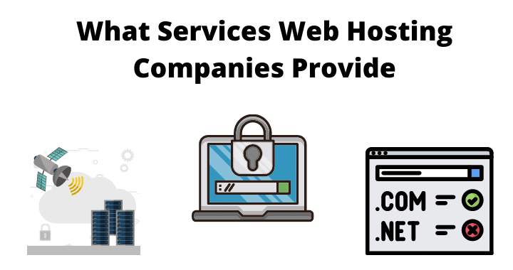 services provided by web hosting companies