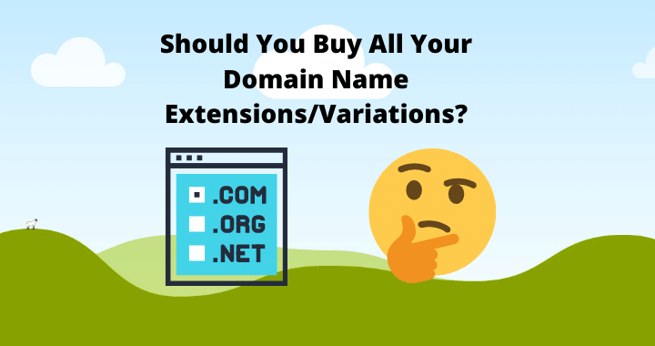 Domain Name Extensions/Variation/Misspellings Should i buy them