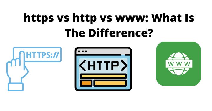 https vs http vs www difference