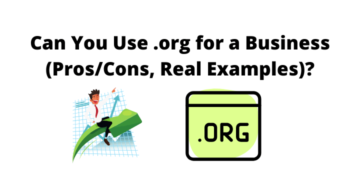 .org domain for a business